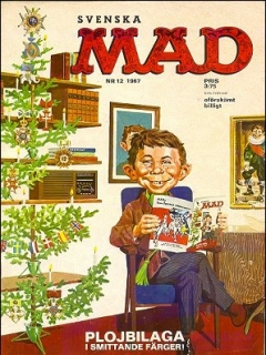 Go to MAD Magazine #12 1966 • Sweden