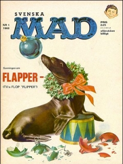 Go to MAD Magazine #1 1967 • Sweden