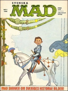 Go to MAD Magazine #5 1967 • Sweden