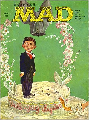 MAD Magazine #63 • Sweden