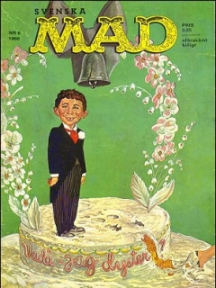 Go to MAD Magazine #6 1967 • Sweden