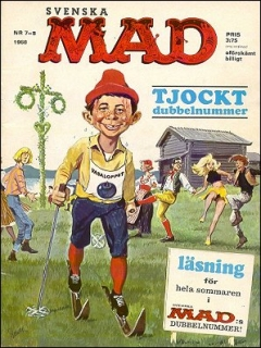 Go to MAD Magazine #7 1967 • Sweden