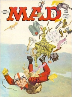 Go to MAD Magazine #11 1967 • Sweden