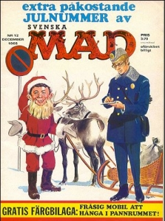 Go to MAD Magazine #12 1967 • Sweden