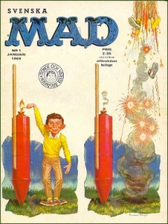 Go to MAD Magazine #1 1968 • Sweden