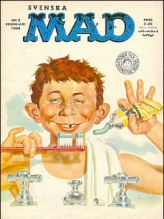 Go to MAD Magazine #2 1968 • Sweden