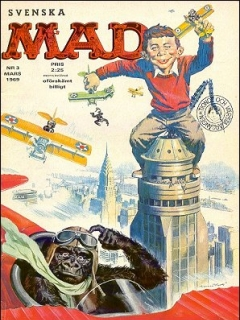 Go to MAD Magazine #3 1968 • Sweden