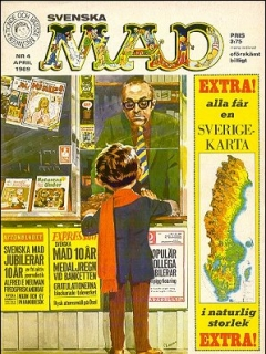 Go to MAD Magazine #4 1968 • Sweden