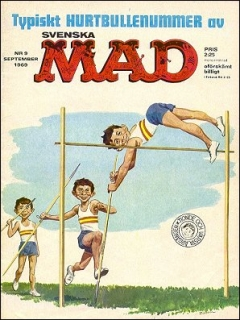 Go to MAD Magazine #76 • Sweden