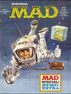 Go to MAD Magazine #11 1968 • Sweden