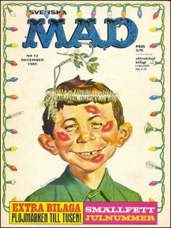 Go to MAD Magazine #12 1968 • Sweden