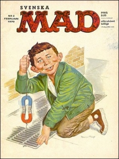 Go to MAD Magazine #2 1969 • Sweden