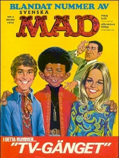 Go to MAD Magazine #3 1969 • Sweden