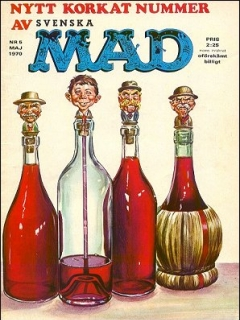 Go to MAD Magazine #5 1969 • Sweden