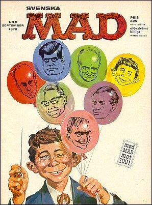 MAD Magazine #87 • Sweden