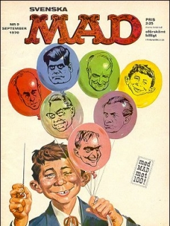 Go to MAD Magazine #9 1969 • Sweden