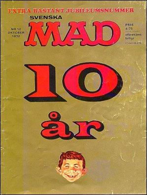MAD Magazine #88 • Sweden