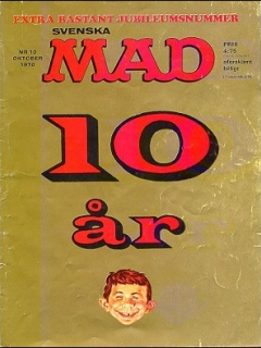 Go to MAD Magazine #10 1969 • Sweden