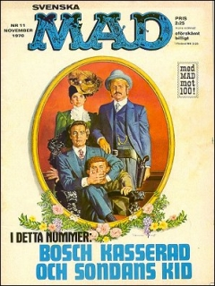 Go to MAD Magazine #11 1969 • Sweden