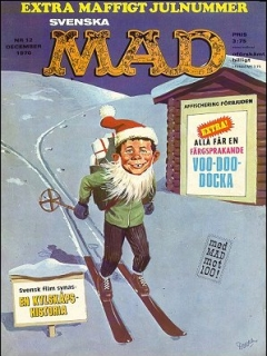 Go to MAD Magazine #12 1969 • Sweden