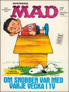 Go to MAD Magazine #2 1970 • Sweden