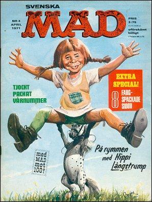 MAD Magazine #4 1970 • Sweden