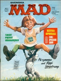 Go to MAD Magazine #4 1970 • Sweden