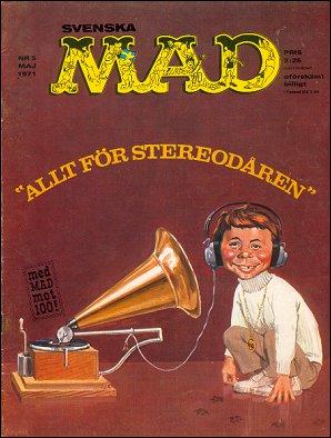 MAD Magazine #5 1970 • Sweden