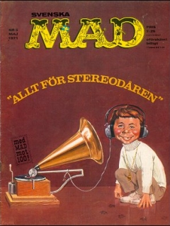 Go to MAD Magazine #5 1970 • Sweden
