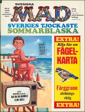 MAD Magazine #6 1970 • Sweden