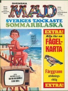 Go to MAD Magazine #6 1970 • Sweden