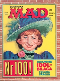 Go to MAD Magazine #7 1970 • Sweden