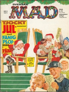 Go to MAD Magazine #9 1970 • Sweden
