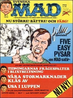 Go to MAD Magazine #1 1971 • Sweden