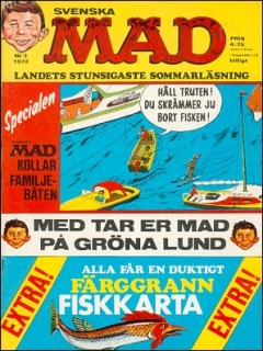 Go to MAD Magazine #3 1971 • Sweden
