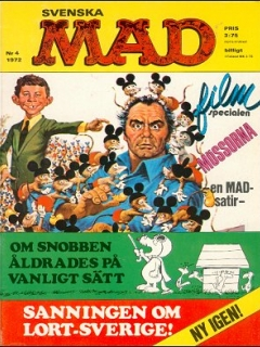 Go to MAD Magazine #4 1971 • Sweden
