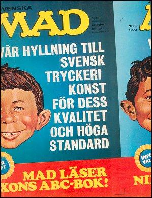 MAD Magazine #105 • Sweden