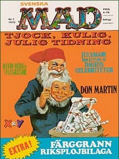 Go to MAD Magazine #7 1971 • Sweden