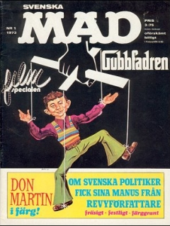 Go to MAD Magazine #1 1972 • Sweden