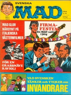 Go to MAD Magazine #4 1972 • Sweden