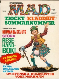 Go to MAD Magazine #5 1972 • Sweden