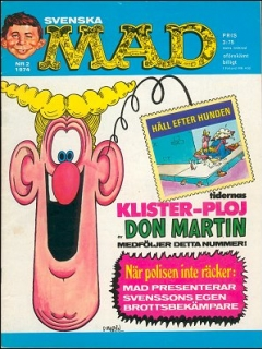 Go to MAD Magazine #2 1973 • Sweden