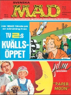 Go to MAD Magazine #4 1973 • Sweden