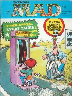 Go to MAD Magazine #5 1973 • Sweden