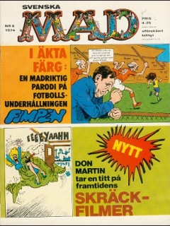 Go to MAD Magazine #6 1973 • Sweden