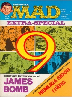 Go to MAD Magazine #121 • Sweden