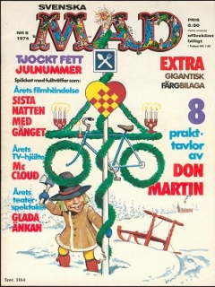 Go to MAD Magazine #8 1973 • Sweden