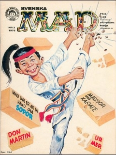Go to MAD Magazine #125 • Sweden