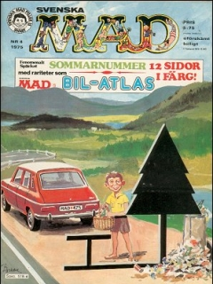 Go to MAD Magazine #4 1974 • Sweden
