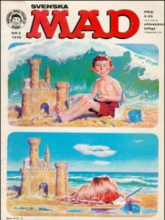 Go to MAD Magazine #5 1974 • Sweden